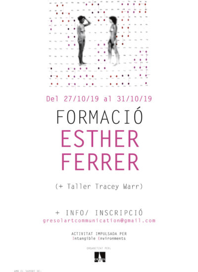 Cartell IE Esther Ferrer